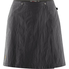 Fjällräven Travellers MT Jupe-short Femme, dark grey